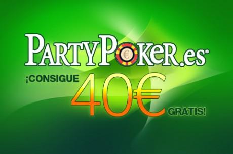 PartyPoker Semanal: Joker, Los Sit & Go, 40 € gratis, iPhone5