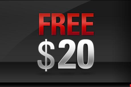 Darmowe $20 od PokerStars
