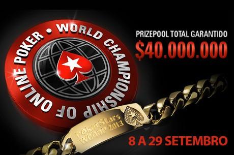 PokerStars Anuncia Calendário World Championship of Online Poker 2013