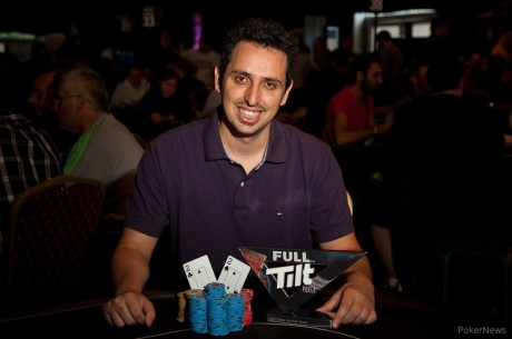 Sergio Aido Wins the Full Tilt Poker UKIPT Galway High Roller
