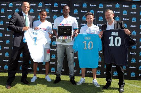 bwin se convierte en partner oficial del Olympique de Marsella