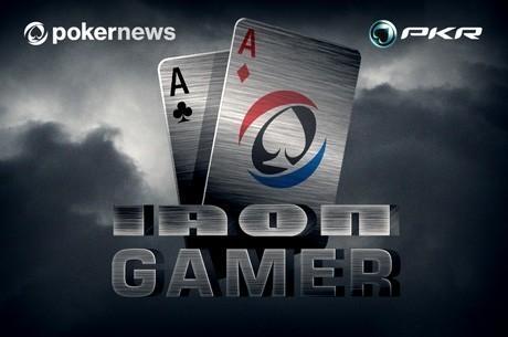 Spil med i vores sidste PKR Iron Gamer $3K Freeroll