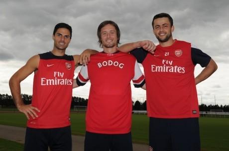 Bodog oficiálním partnerem Arsenalu na asijském trhu