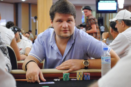 2013 bwin WPT Merit Cyprus Classic Tag 2: Alexey Rybin als Chipleader