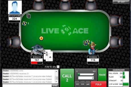El poker online vuelve a los EE.UU. con la ingeniosa propuesta de LiveAce