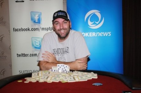 Joshua Smith Wins PokerNews Mid-States Poker Tour Grand Falls Casino Hotel