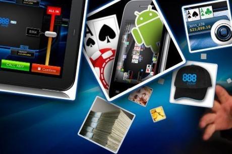 888 запустили МТТ-турниры на своей мобильной...