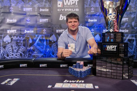 Alexey Rybin Goes Wire-to-Wire to Win 2013 bwin WPT Merit Cyprus Classic