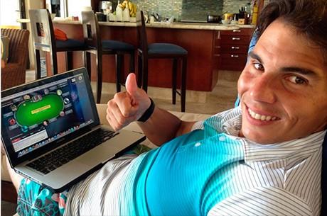 Rafael Nadal vai Estrear-se no EPT Praga e Já Treina com Amigos