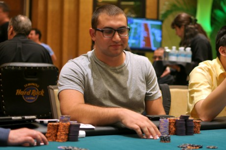 Seminole Hard Rock Poker Open: Schaff Leads After Day 1a; Irv Gotti Near the Top