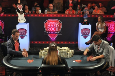 Seminole Hard Rock Poker Open: Hinkle and Bonomo Battling Heads Up