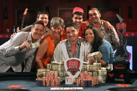 Seminole Hard Rock Poker Open: Blair Hinkle Wins $10 Million Guarantee