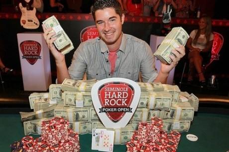 Блейр Хинкл взял главный приз турнира Seminole Hard Rock Poker...