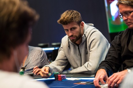 PokerStars.com EPT Barcelona Main Event Day 1b: Gerard Piqué Advances In Huge Field