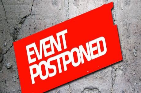 2013 English Poker Open Postponed