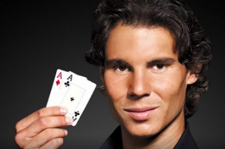Теннисист Рафаэль Надаль сыграет в покер на турнире...
