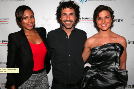Serena Williams & Survivor's Ethan Zohn Attend James Blake Foundation Poker Tournament