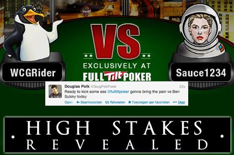 "High Stakes Revealed: Douglas ""WCGRider"" Polk neemt voorsprong op Ben Sulsky"