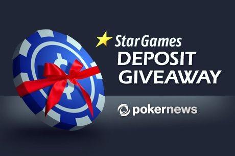 Legyél a 10 első PokerNews-os befizető között a StarGames-en, és €20-t adunk ajándékba