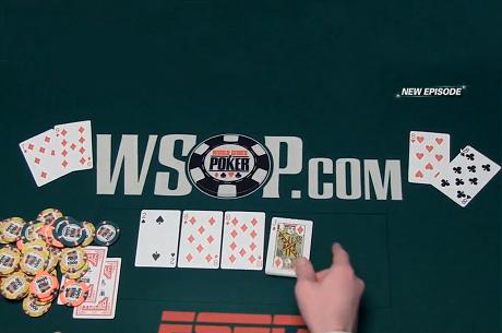 VIDEO: Straight flush és izzasztó split a Main Event 5. napjának összefoglalójában