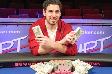 Michael Rosenbach Wins Heartland Poker Tour Thunder Valley Casino Resort for $180,689