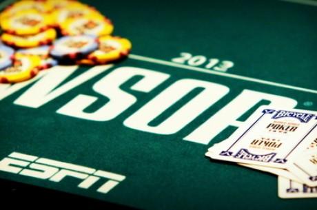 WSOP Pagrindinio turnyro šeštoji diena, tryliktasis ir keturioliktasis epizodai