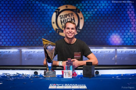 Martin Finger vyhrál EPT10 London £50,000 Super High Roller za £821,000