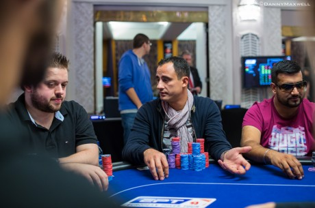 PokerStars.com EPT London Main Event Day 2: Tudor Purice Wins a Big Flip Late to Lead