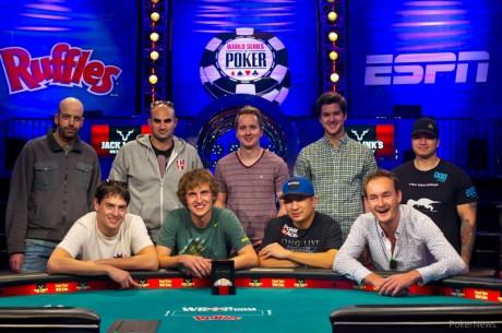 """WSOP 2013 põhiturniiri finalistide """"November Nine"""" tutvustus"""