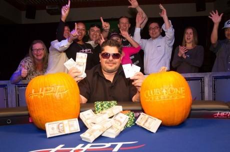 Джеймс Джефф выиграл турнир Heartland Poker Tour в Club One Casinо