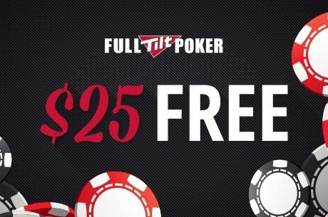 Riboto laiko pasiūlymas: Pasiimkite nemokamus $25 Full Tilt Poker kambaryje