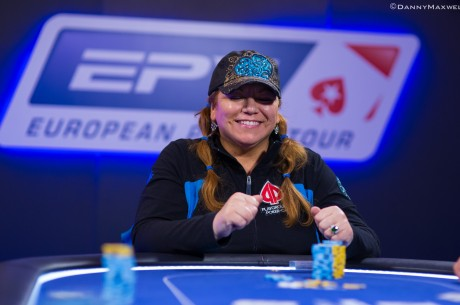 PokerStars.com EPT London High Roller Day 2: 12 Remain with Sabini On Top