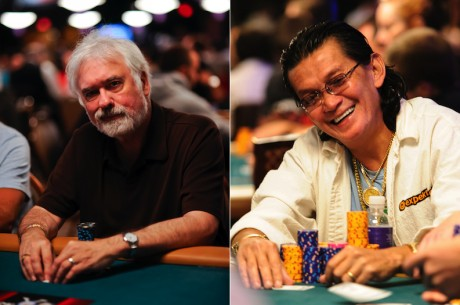 Tom McEvoy and Scotty Nguyen Join Poker's Most Exclusive Club, the Poker Hall of Fame