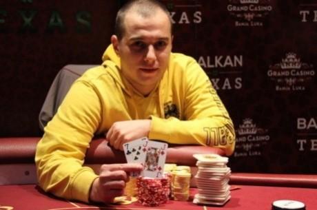 Davor Božilović je Pobednik Balkan Texas Poker Turnira za €2,610 i Ulaz na Eureka Prag ME
