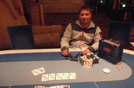 Atviras Kauno Miesto pokerio čempionatas startavo Pauliaus Žilinsko pergale