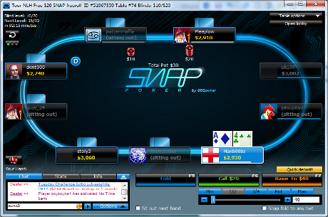 888poker Launch a Fast-Fold Variant Called Snap Poker