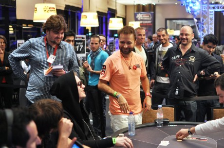 2013 WSOP Europe Day 12: Negreanu Falls To End Day 3 of Main Event; Mizzi Leads HR