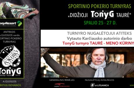 Antanas Guoga kviečia sportinio pokerio gerbėjus į didelio susidomėjimo sulaukusį turnyrą...