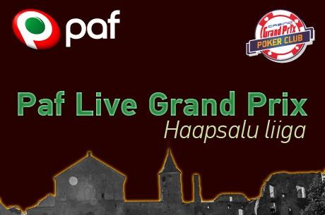 Paf Live Grand Prix Haapsalu liiga kaudu pääseb Eesti meistrivõistluste põhiturniirile