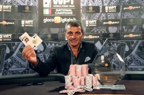 Francesco Del Foco Wins World Poker Tour National Campione for €90,000