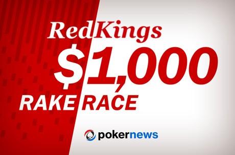 $1.000 RedKings Rake race: mennyi pontot tudsz gyűjteni 1 hét alatt?