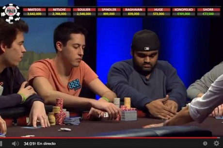 WSOPE 2013 Final Table: ¡¡Adrián en heads up vs Soulier, el brazalete está a punto...