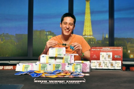 19-Year-Old Adrian Mateos Wins WSOP Europe Main Event for €1M; Fabrice Soulier 2nd