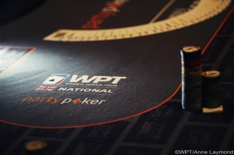 James Thompson On Top After Flight 2 of the WPT National UK London Main Event