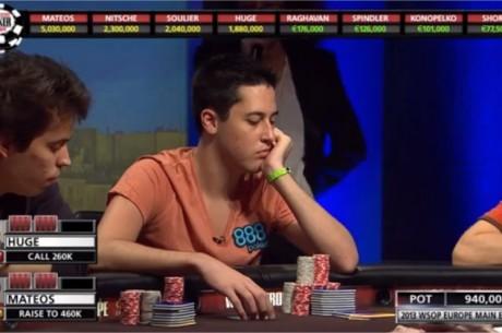 Así ganó Adrián Mateos el WSOPE Main Event 2013