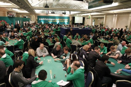 Mathias Puzich Tops Day 1 Field in the Paddy Power Poker Irish Winter Festival