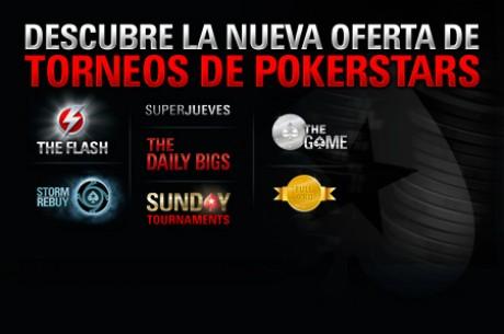 PokerStars.es presenta su nueva oferta de torneos