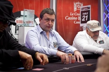 Antanas Guoga - tarp lyderių 100,000 svarų sterlingų įpirkos WPT Alpha8 turnyre