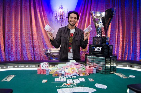 Mohsin Charania je Osvojio 2013 World Poker Tour Grand Prix de Paris za $469,477