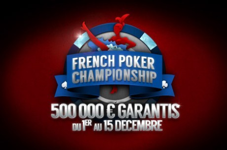 PMU Poker : Freerolls French Poker Championship (10.000€ en tickets)
